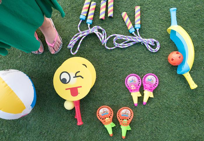 משחקי חוף על הדשא